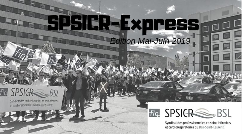 SPSICR-Express Mai-Juin 2019
