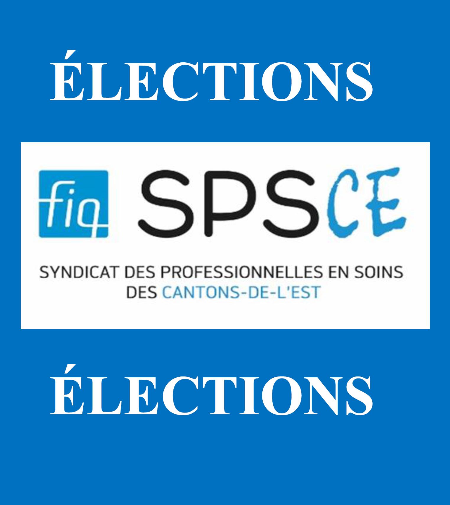 Élection FIQ-SPSCE