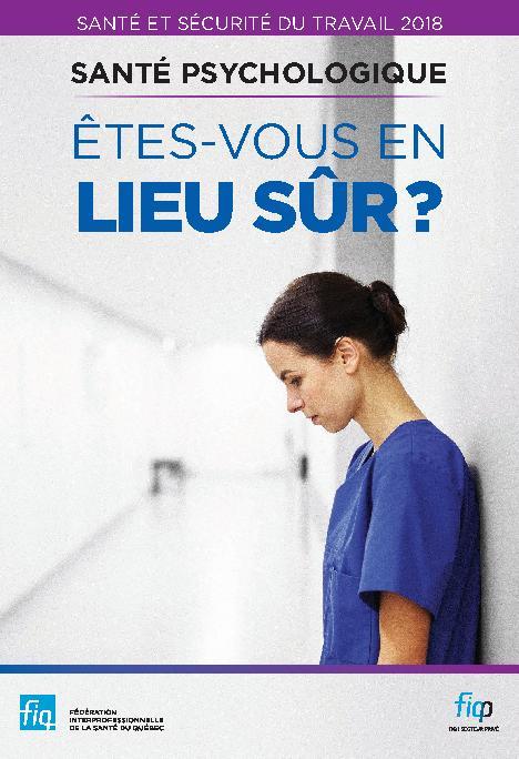 SST 2018 Santé psychologique : êtes-vous en lieu sûr?