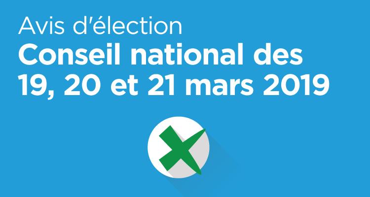 Élection CN