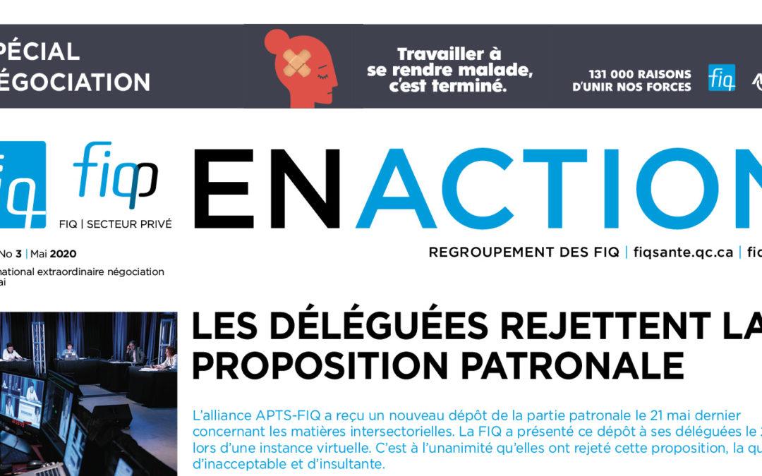 Le Journal En Action du Conseil national extraordinaire négociation du 15 juillet est maintenant disponible