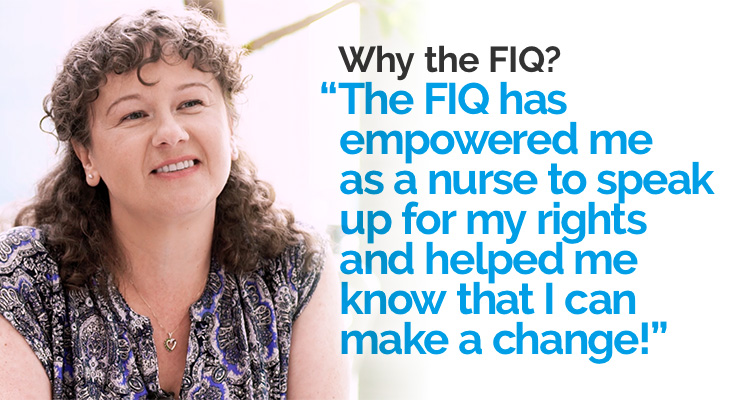 The FIQ supports us and helps us make a change!