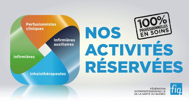 Activités réservées
