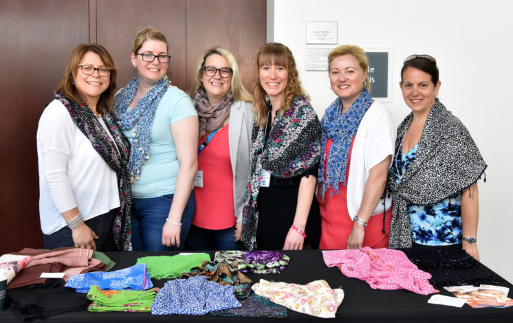 Empowering Nepalese Women with Scarves