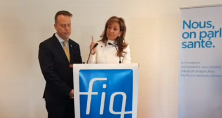 The CAQ government's first budget: the FIQ is demanding concrete actions for the healthcare professionals and their patients