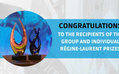 Presentation of the Régine-Laurent group and individual prize