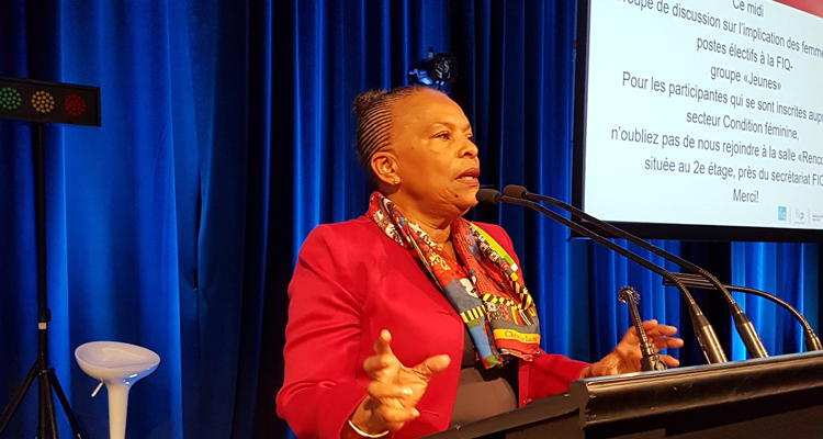 Christiane Taubira: Engaged with and for others