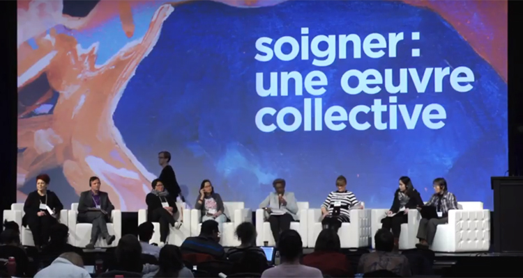An international panel at the FIQ Convention