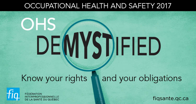 Committee editorial : OHS demystified – Know your rights and obligations